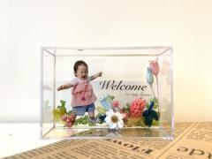【満席御礼・2/6(木)開催】子どもの写真入り♡玄関インテリアにぴったりなフラワープレート作り byナチュリエ