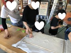 """【1/19(日)開催】""""おうちづくり""""を学んで、未来のマイホームに飾る家族の珪藻土手形アートを作ろう"""