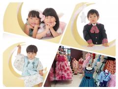 【満席御礼・7/31(水)開催】かぐや姫&星の王子様フォト撮影会 in レンタルドレス真珠