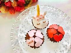満席【2/12(水)開催】バレンタインに♡メッセージ入りカップケーキを作ろう!inふなはしママテリア