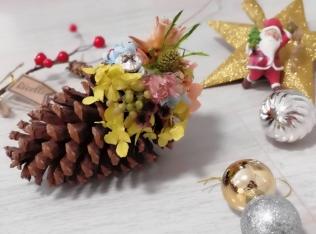 満席御礼【12/3(火)開催】クリスマスモビールを作ろう|ヴィンテージ雑貨WS byナチュリエ