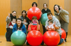 【2月開催スケジュール】新感覚エクササイズ「バランスボールエクササイズ」で子連れで楽しくリフレッシュ!