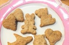 【4/17(水)mamaskyhouseにて開催】卵&乳製品不使用!「親子で胡麻クッキーを作ろう」
