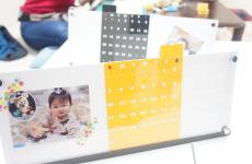 【開催レポ】プチDIY体験♪ペタペタ貼るだけ♪オリジナル万年カレンダー作りに挑戦!