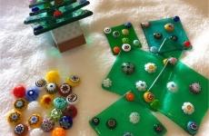【12/10(火)開催】クリスマス企画★ガラスパーツでオリジナルクリスマスツリー作りませんか?