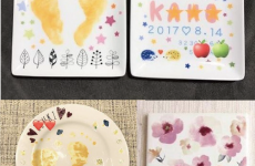 【11/28(木)mamaskyhouseにて】クリスマス向けのお皿も登場「ポーセラーツで世界に1つだけのお皿・タイルアートを作ろう」