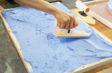 【開催レポ】世界にひとつだけの珪藻土バスマット作りをしました♡