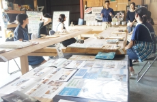 【開催レポ】大人気!「谷内建築」さんで珪藻土を使った足形アート作品を作りました。
