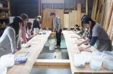 【開催レポ】新築モニター募集でも話題の「谷内建築」さんで珪藻土手形アートづくりイベントを開催しました。