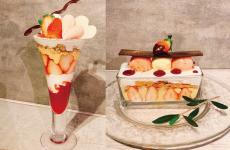 【高岡市|カフェ|ケイル】幸せいっぱい♡「イチゴフェア」の季節がやってきた!!