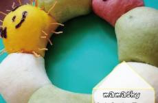 満席【5/10(水)開催】「mamaskyおうちパーティー研究室」アオムシの可愛いちぎりパンを作ろう♪