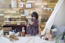 【5/24(金)mamaskyhouseにて】テーマはオシャレなキッズルーム♡「おすわりアート撮影会」開催!