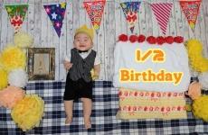 【2/16(金)開催】可愛い今を残す!「ハーフバースデー」赤ちゃんアート撮影会