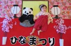 【3/2(金)mamaskyhouseにて】おひな様♡おだいり様に変身「ひな祭り赤ちゃんアート撮影会」開催!
