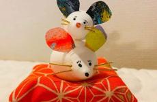 【12/22(日)開催】粘土をコネコネ♪来年の干支「ねずみ」を作ってお家に飾ろう♪