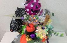 【10/6(土)・8(月・祝)開催】カラフルでポップ!お菓子なアレンジメントを作ろう!