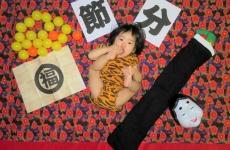 【2/2(金)mamaskyhouseにて】鬼に変身♡「赤ちゃん節分アート撮影会」開催!